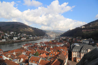 Old town in Heidelberg 2