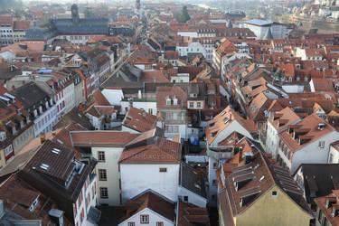 Old town in Heidelberg
