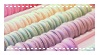 pastel macaroon stamp by notedPaige