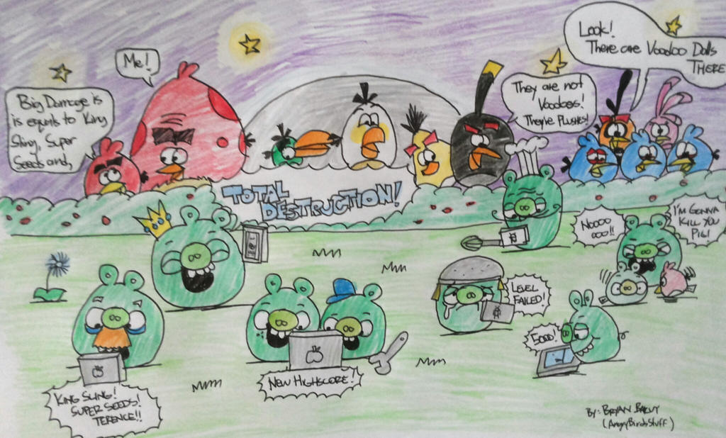 Angry Birds - The Ugly Truth by AngryBirdsStuff