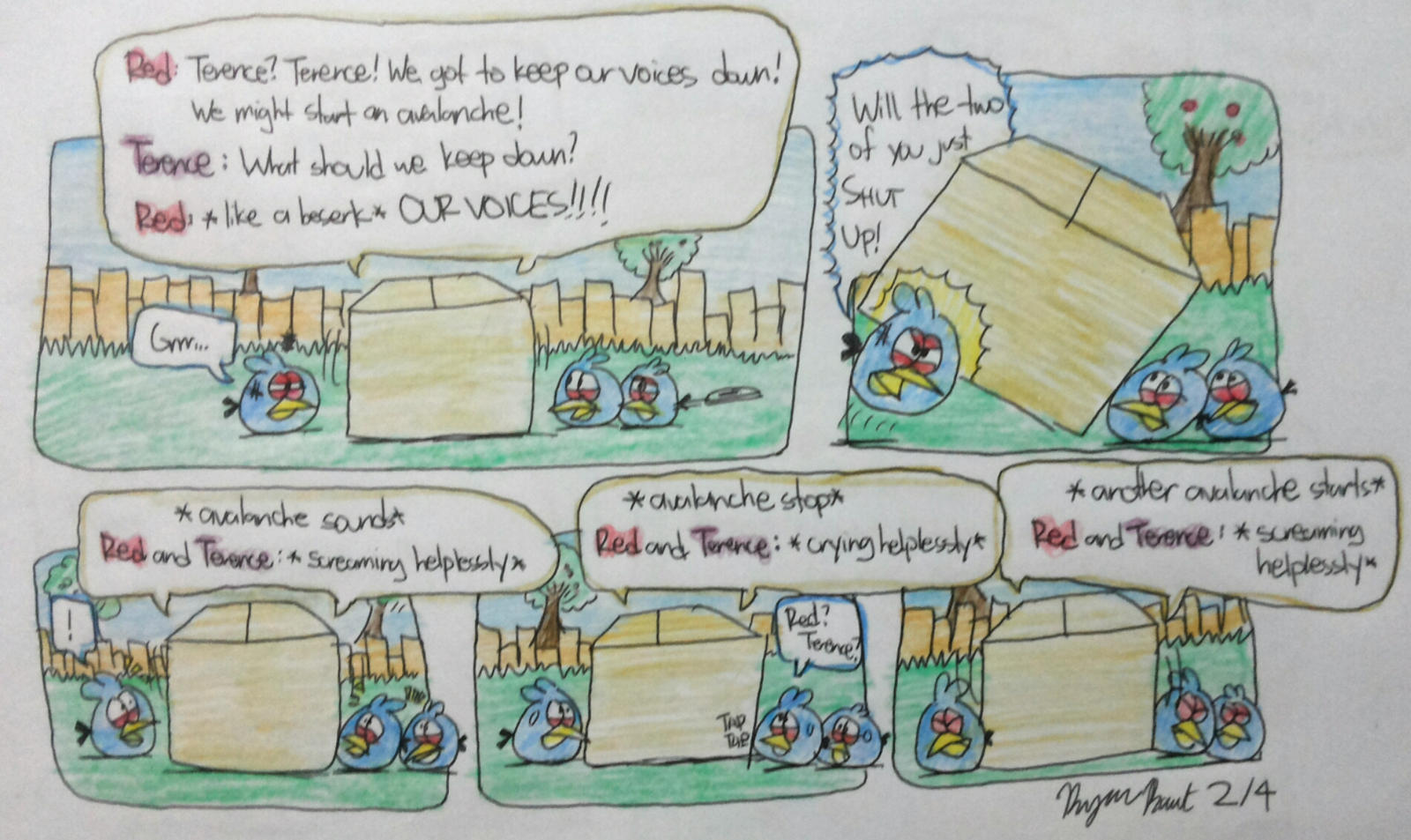 Angry Birds - It's about Imagination Part 2 of 4 by AngryBirdsStuff