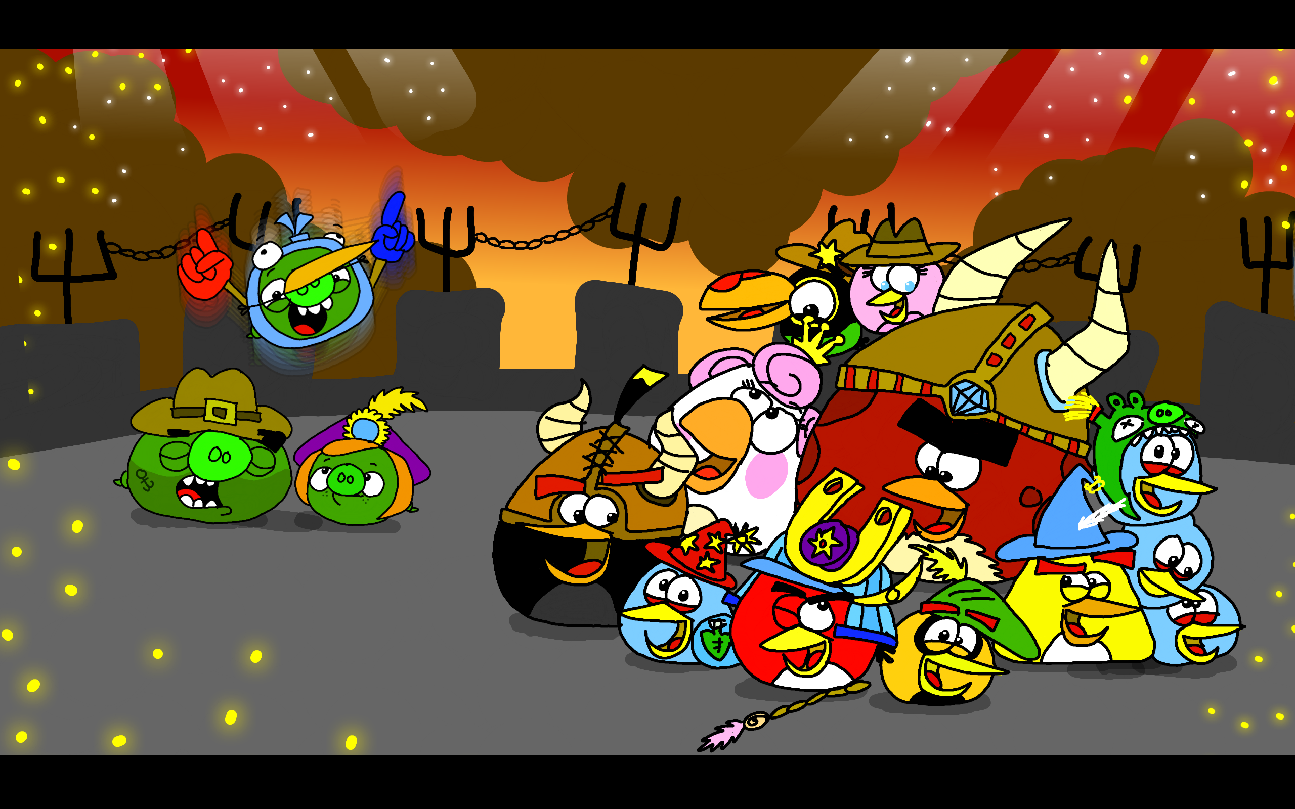Group Photo in Angry Birds Epic by AngryBirdsStuff on ...