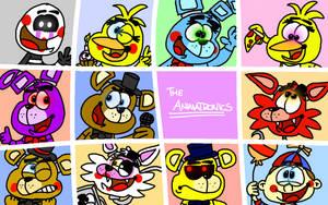 All of the Animatronics by YoshiBowserFanatic