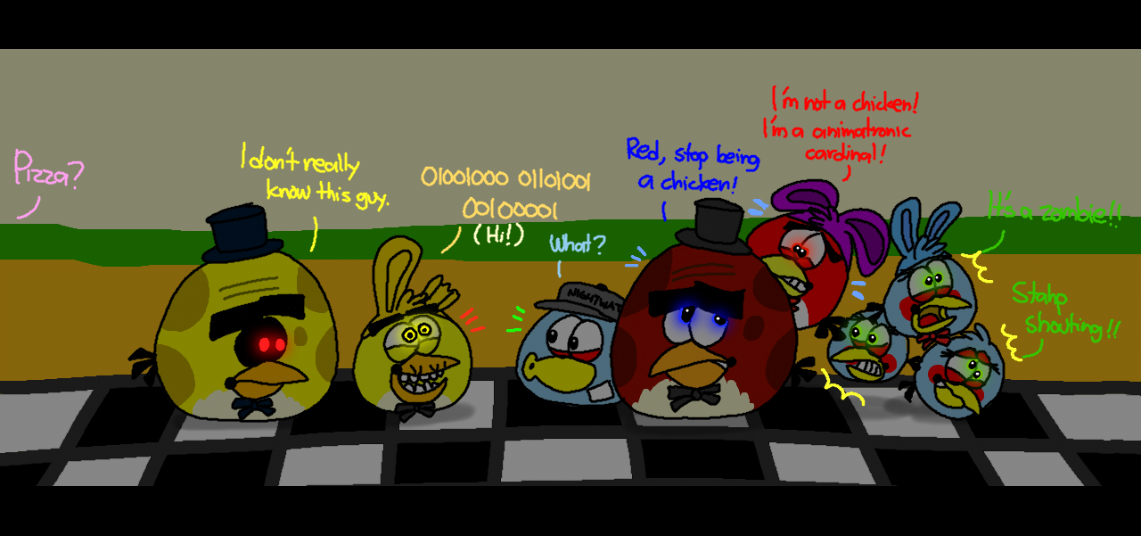 five nights at terence s 3 golden red by angrybirdsstuff on