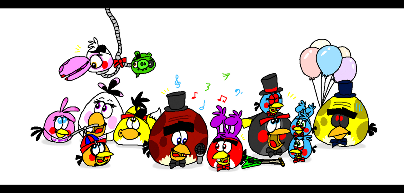five nights at terence s the birdamatronics by angrybirdsstuff on