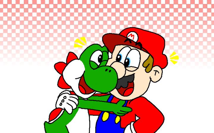 Yoshi meets Bowser the Queen by IceLucario20xx on DeviantArt |Bowser Loves Yoshi
