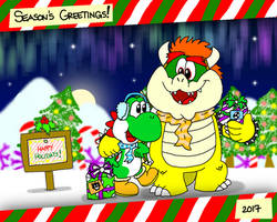 Winter Walks and Christmas Talks by YoshiBowserFanatic
