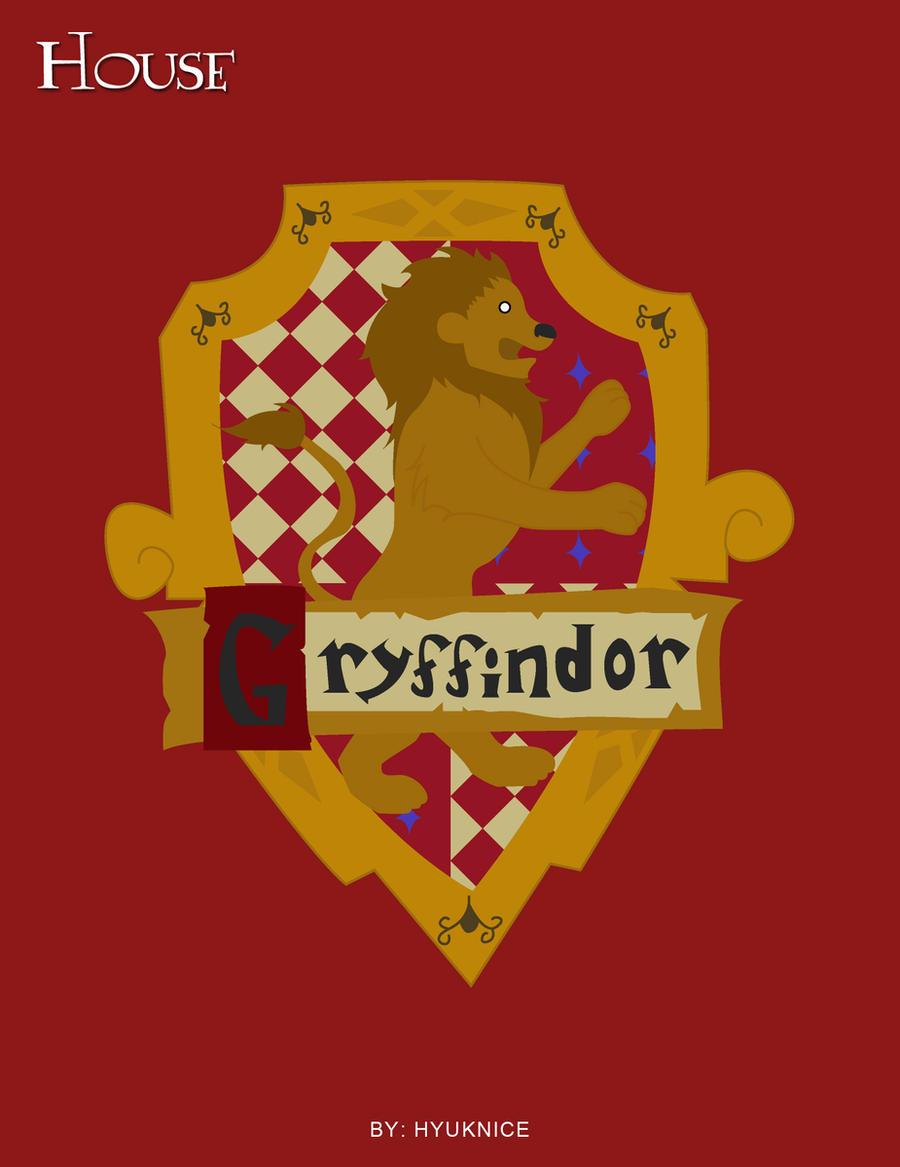Gryffindor shield vector