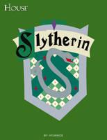HP Cards- Slytherin crest by Hyuknice