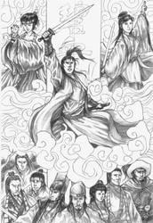 Bi Xue Jian: Wuxia Epic by fong-saiyuk