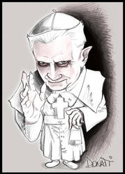 POPE Benedict XVI by Sturby