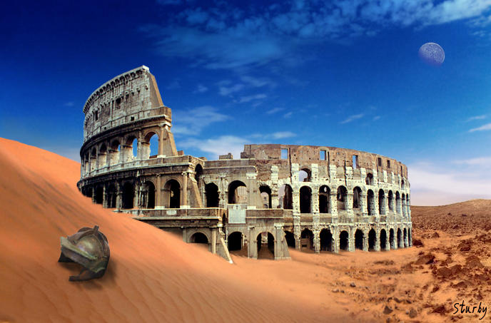 Essays 'What lead to the fall of the roman empire - Breif Summary', 1.