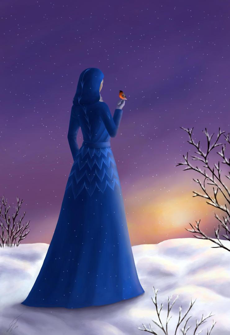 Winter lady by Falaryen