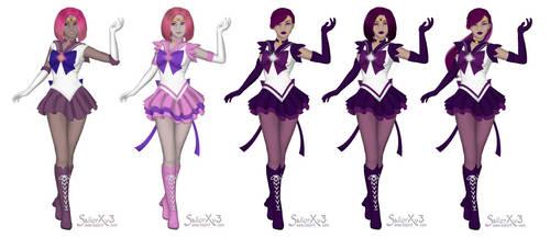 SailorXv3 Sailor Kriegerinnen