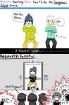 Nezumi Teaches Shion Gangnam Style by ThatSqueakyCoyote