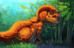 Orange Hunter sketch