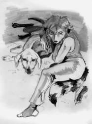 A she-dog
