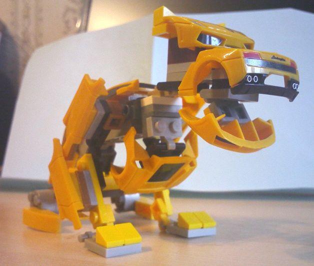 Lambor The Motor Monster by Chentzilla