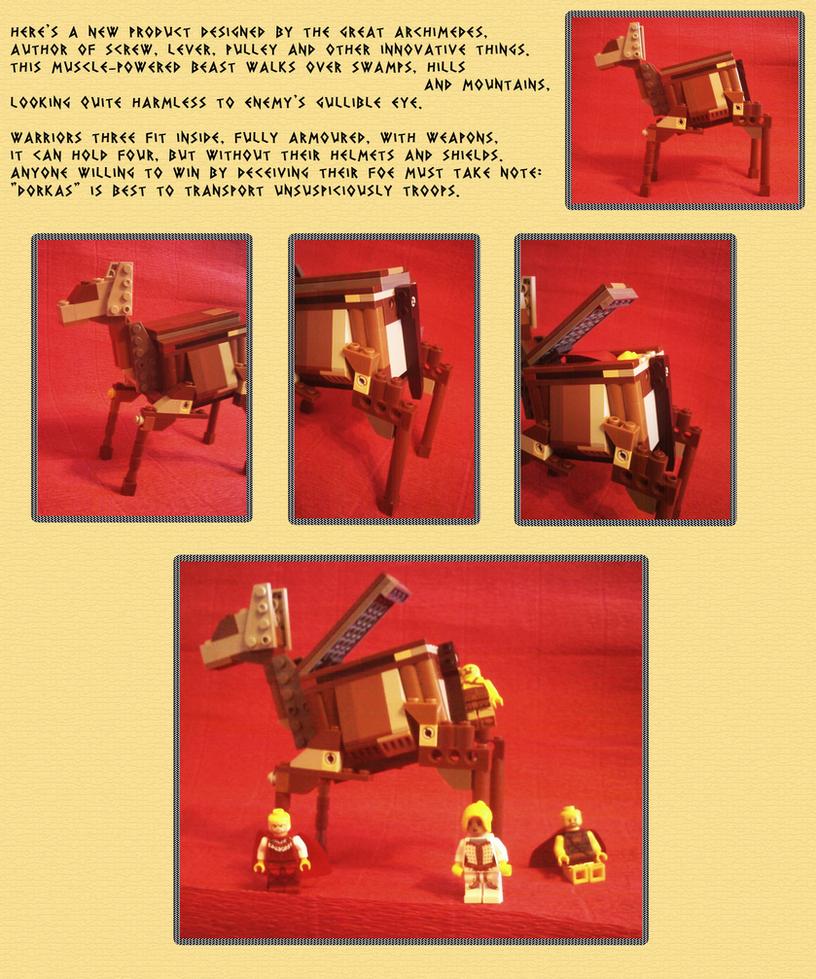 Dorkas - Trojan walking APC (1/2) by Chentzilla