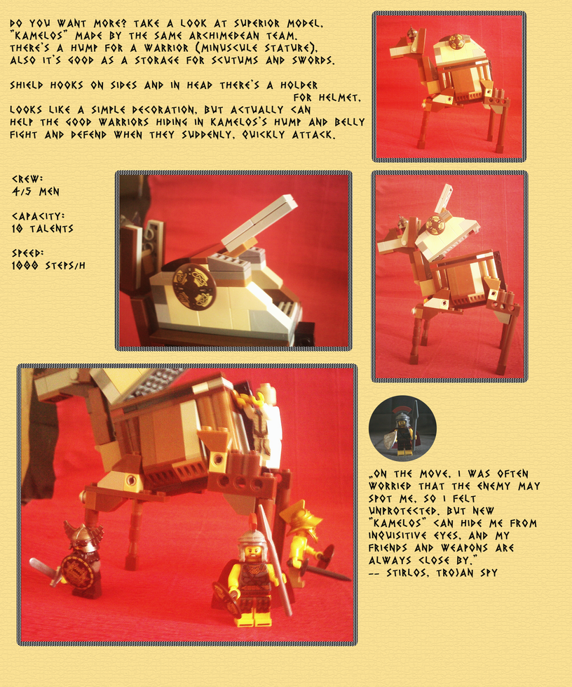 Kamelos - Trojan Walking APC (2/2) by Chentzilla