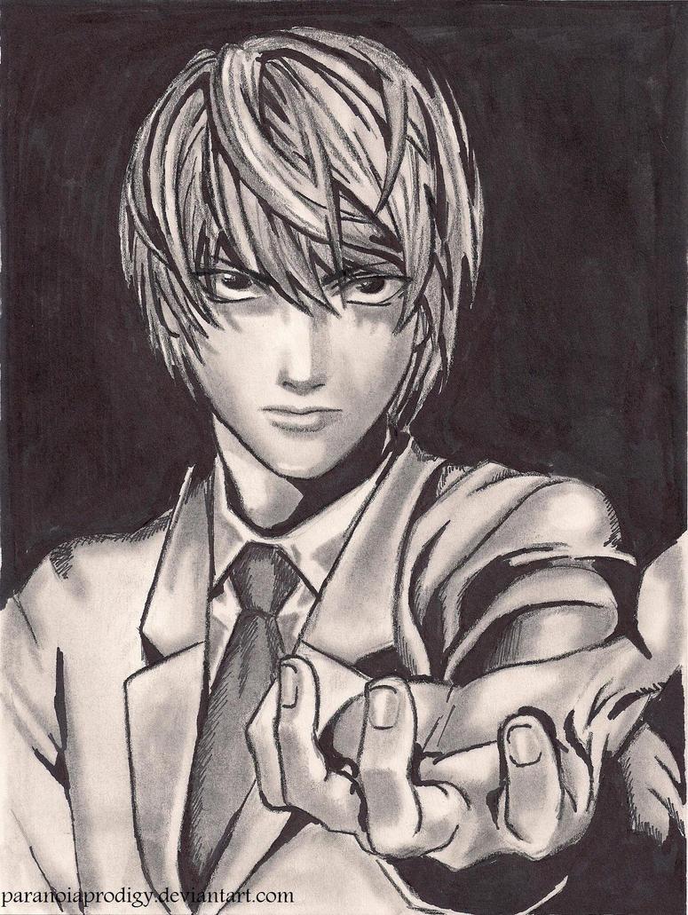 ..:Light Yagami:.. by paranoiaPRODIGY