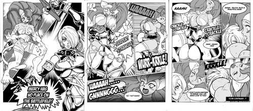 comicomission 4 DreadBlueViper by Shayeragal