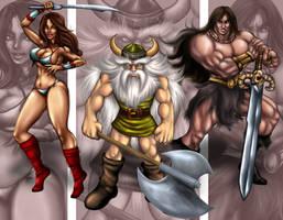 sega heroes golden axe by Shayeragal