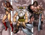 sega heroes golden axe