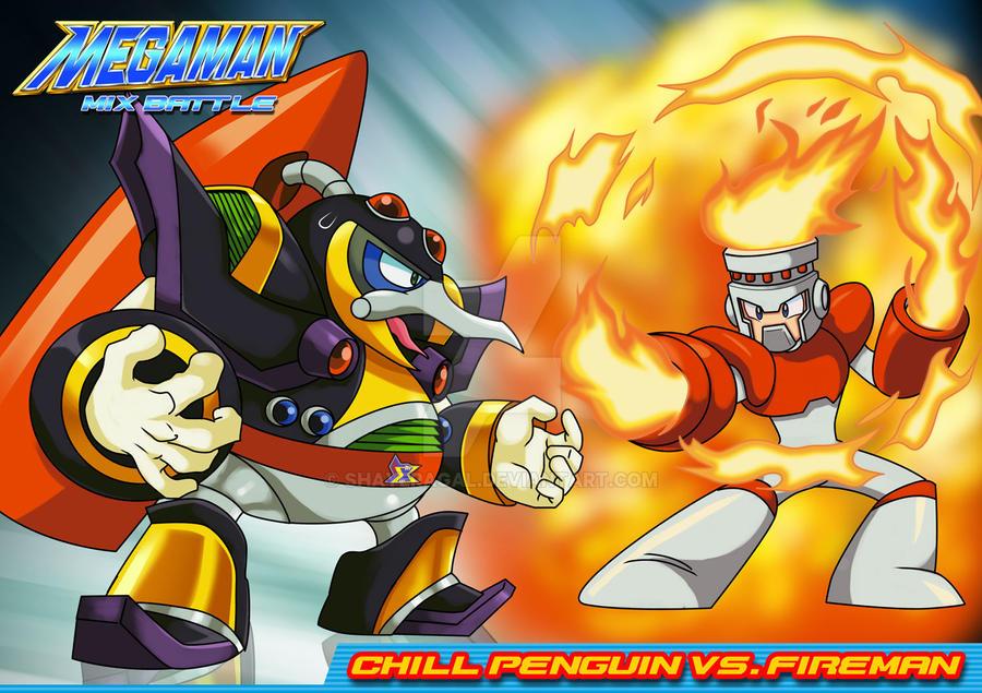 Mm mx b fireman vs c penguin by shayeragal on deviantart for Mission exe