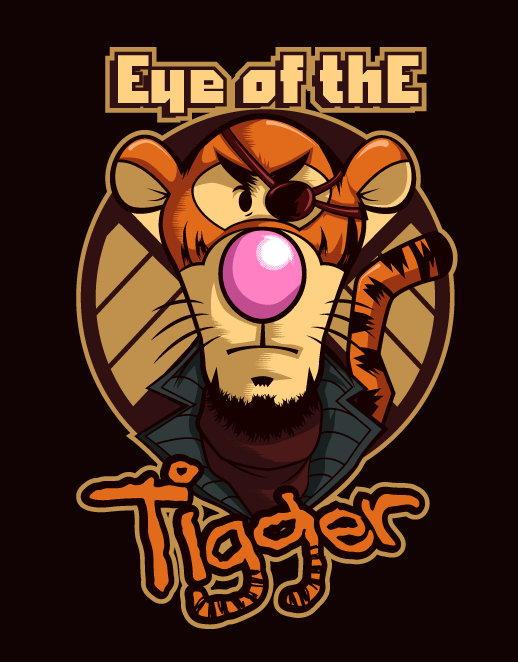 eye of tigger by Shayeragal