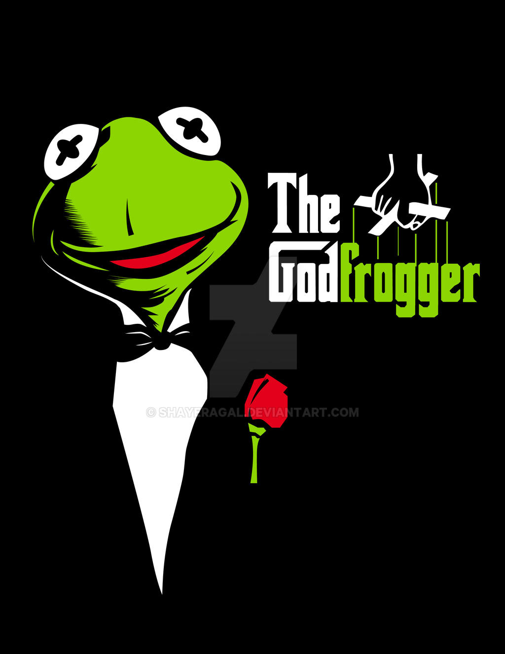 the GodFrogger by Shayeragal