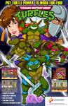 TMNT arcade flyer free version