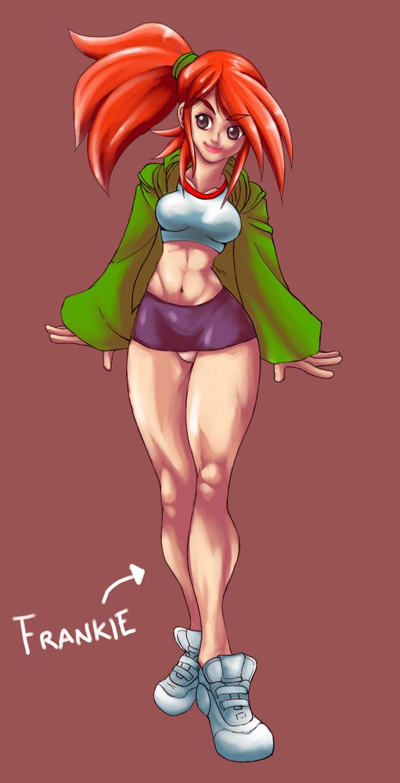Frankie Anime Version by Shayeragal