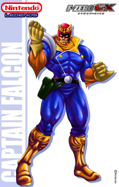 Captain falcon unmasked