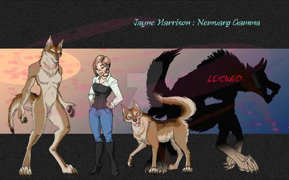 Jayne Harrison - Nemvarg by Madam-Sparkz