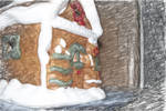 Gingerbread House by InCaseOf