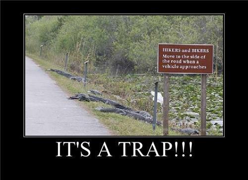 Its a trap by 8901234568766