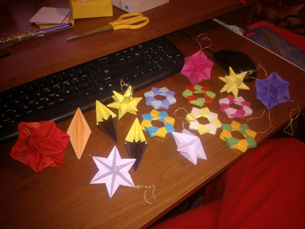 Origami by esterra