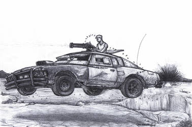 Road Warrior by wannabemustangjockey