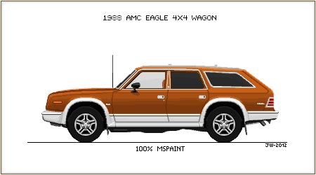 1988 AMC Eagle by wannabemustangjockey
