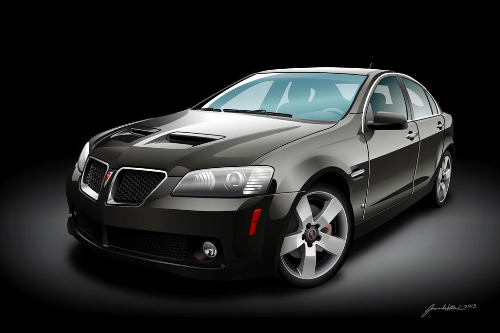 Pontiac G8 Gt Magnetic Gray By Wannabemustangjockey On
