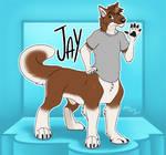 Commission: Jay Conbadge by Lady Rain