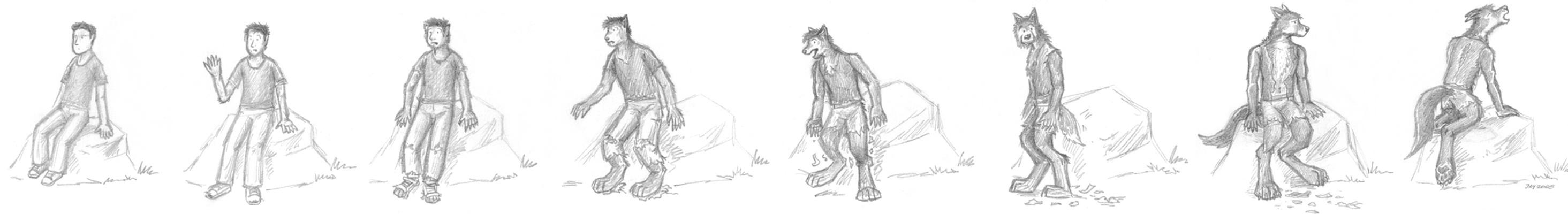 Reluctant Werewolf by wannabemustangjockey