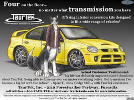 TaurTek magazine ad 2 by wannabemustangjockey
