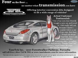 TaurTek magazine ad 3 by wannabemustangjockey