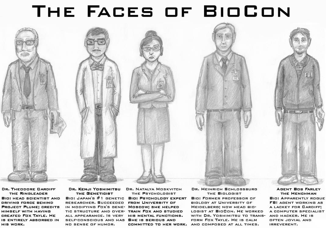 The BioCon Five by wannabemustangjockey
