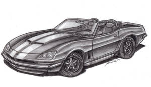 1970 Dodge Viper concept by wannabemustangjockey