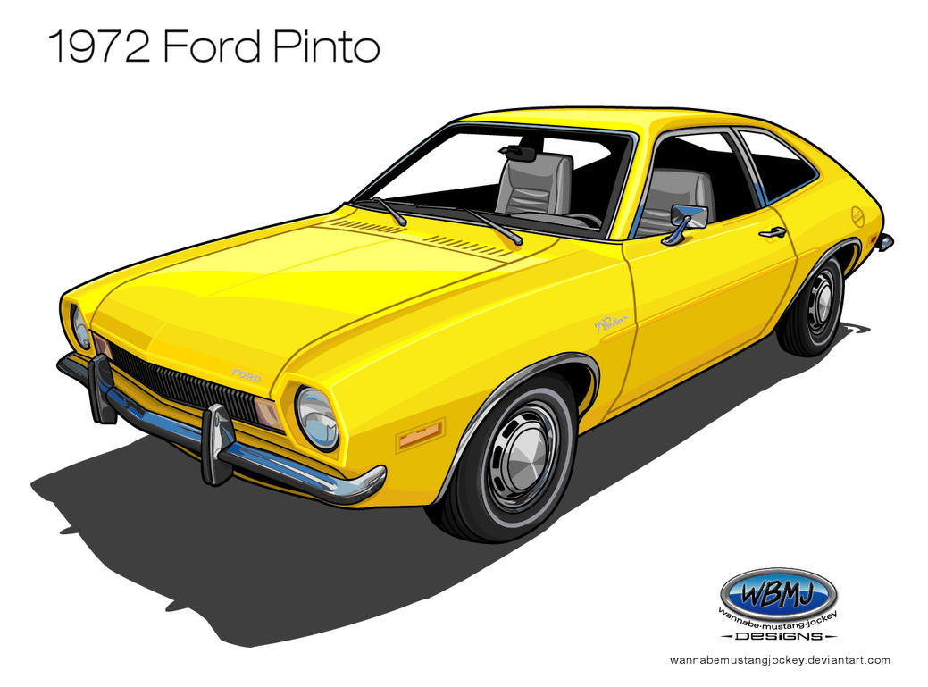 1972 Ford Pinto by wannabemustangjockey
