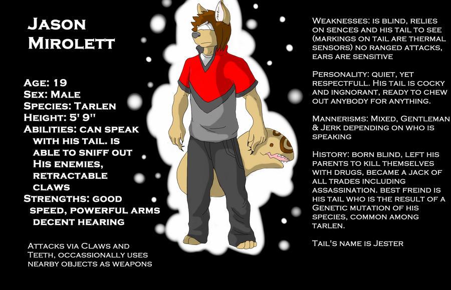 Jason Mirolett by EvilPurity