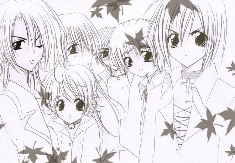 .: Yaoi Manga Chracters :. by Kiyosune